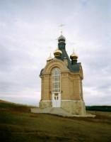 Свято-Николаевский мужской монастырь Церковь Рождества Иоанна Предтечи над входом в Святые пещеры